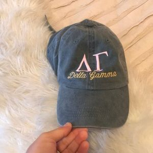 Accessories - Delta Gamma baseball hat